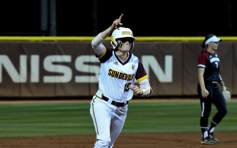 ASU softball takes game one of its NCAA Super Regional