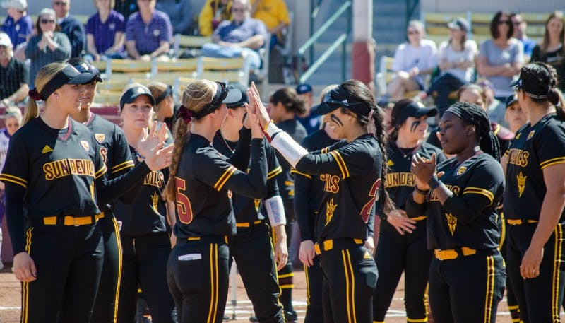 ASU softball defeats Ole Miss 9-0 to advance to the Super Regionals