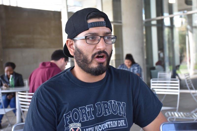 Hassan Chaudhri - veteran ASU student