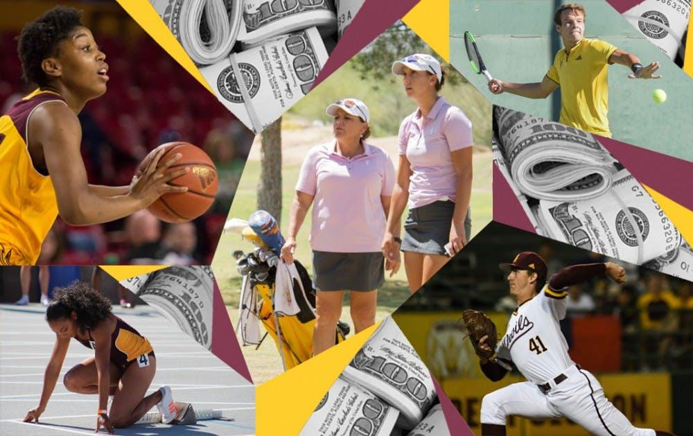 Athletics Collage