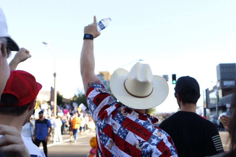 Gallery: A look back on President Trump's Phoenix rally