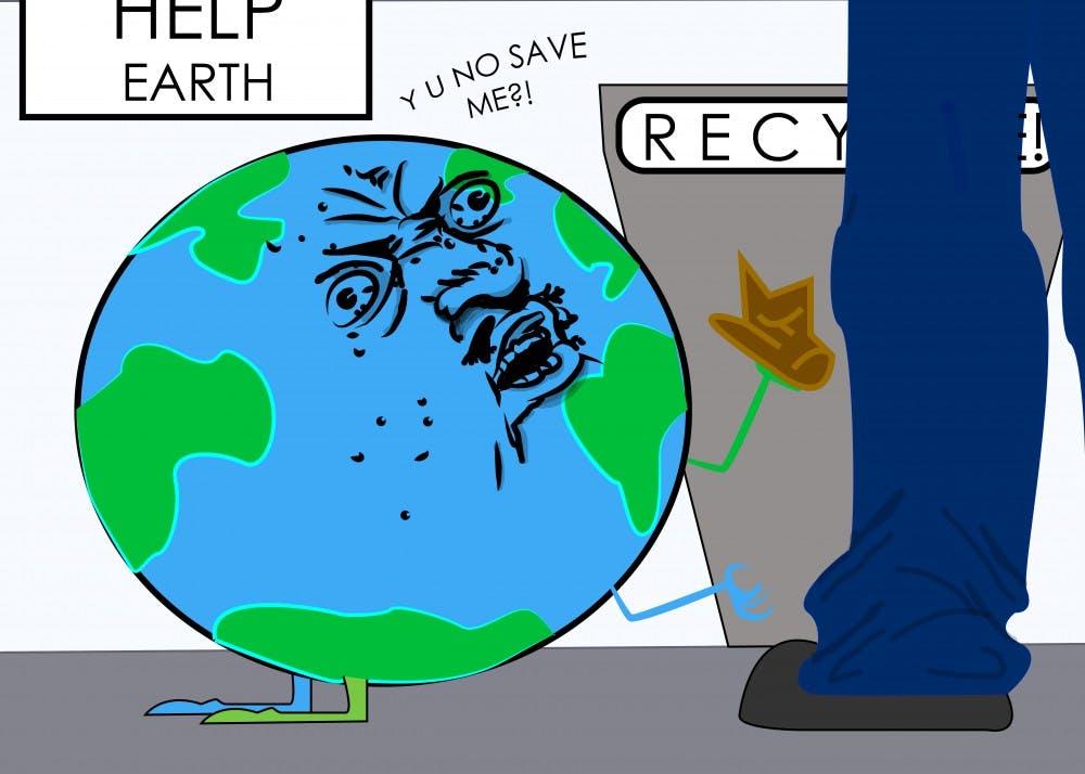 The Earth Needs Help!