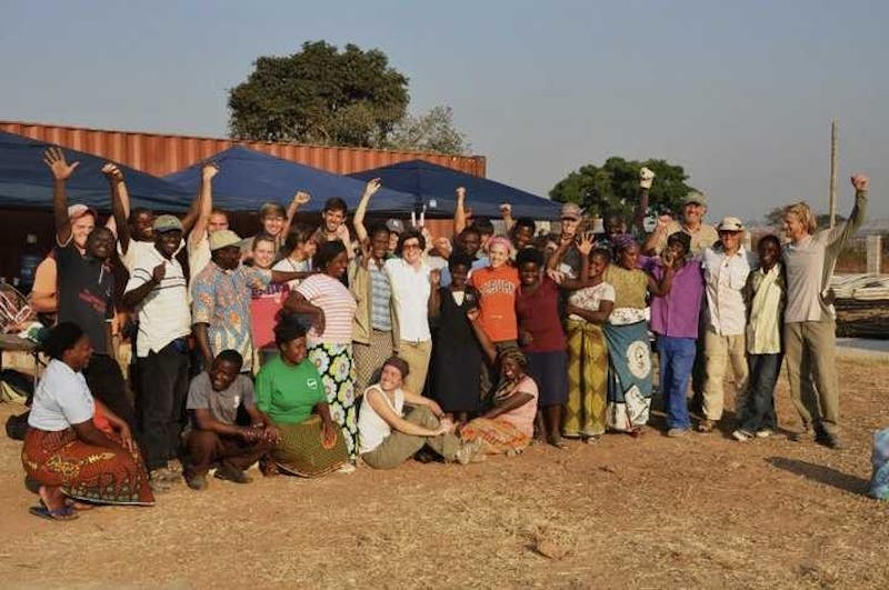 Emily Junkins served with a non-profit Zambia her 2011 summer.