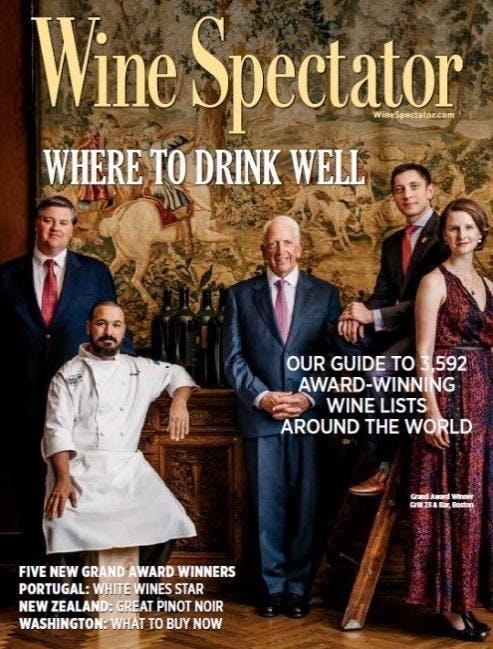 The Depot in Downtown Auburn wins a Wine Spectator Award