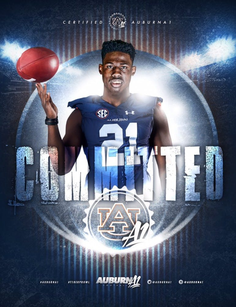 Four-star safety commits to Auburn