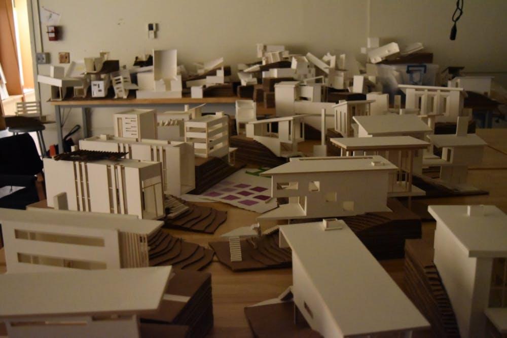 Summer architecture program challenges students