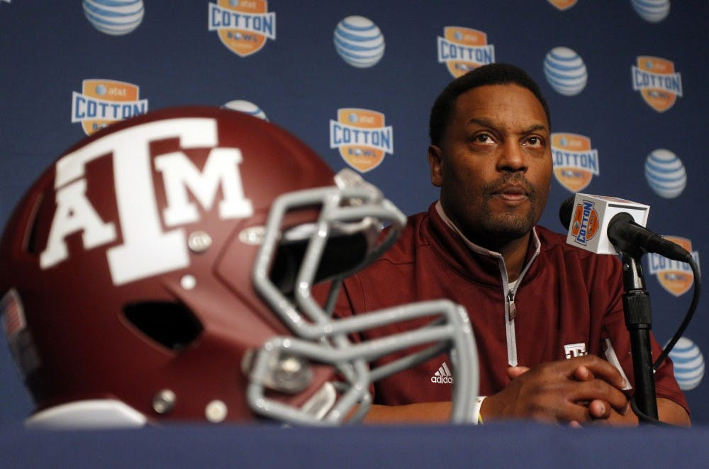 Kevin Sumlin says he needed a break after leaving Texas A&M