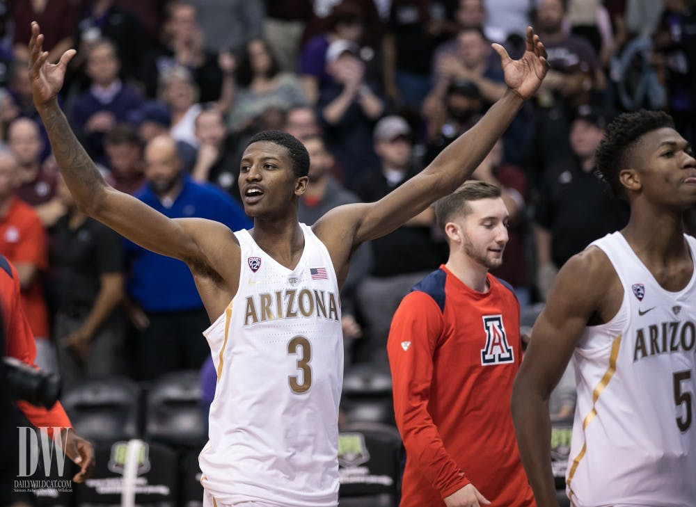 Arizona hangs on to beat No. 7 Texas A&M 67-64