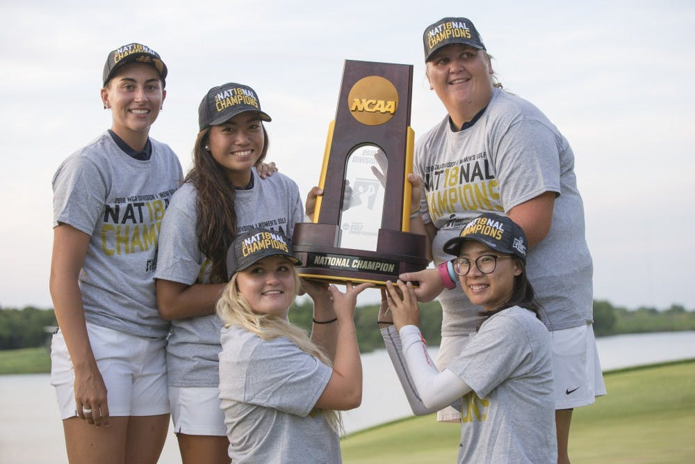 Arizona wins national championship in women's golf