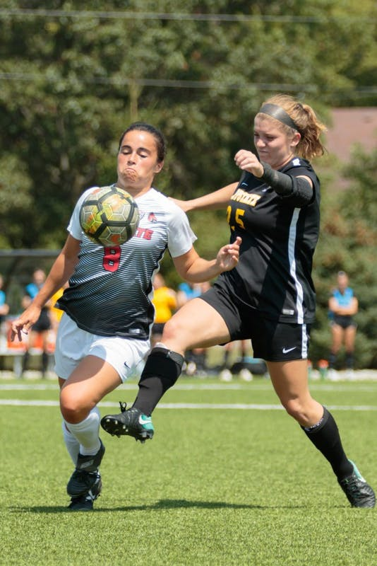 Soccer closes out non-conference play at senior night
