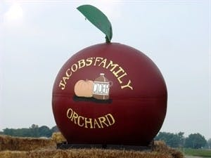 Jacobs Family Orchard is a place to go and celebrate fall. They have fresh made donuts, hay rides and apple picking. Jacobs Family Orchard, Photo Provided.