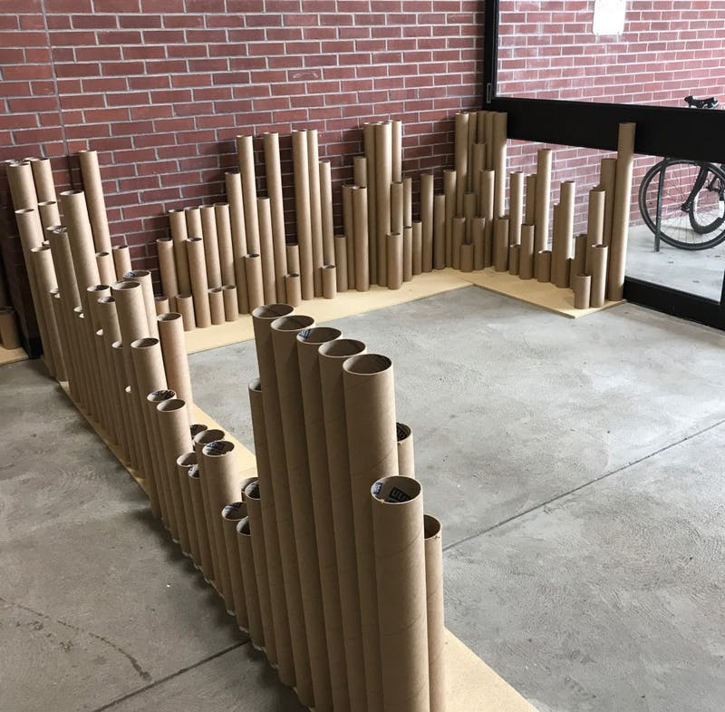 College of Architecture and Planning students create pop-up parks