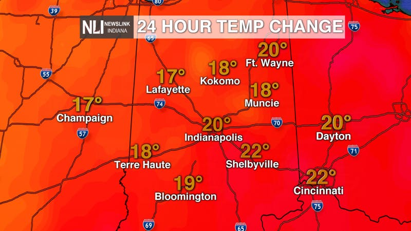 Our 1st 70 degree day since February but will the heat stick around?