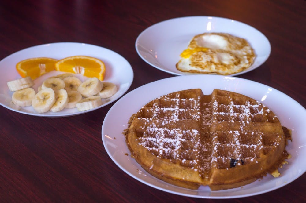 Red Apple Cafe opened its doors down the street from Sunshine Cafe. Similar to Sunshine, it serves breakfast items such as waffles, eggs, and fruits. DN file