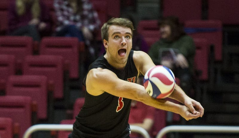 After month on road, there's no place like home for Ball State men's volleyball