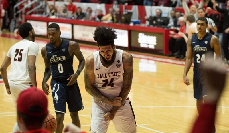 Ball State snaps Toledo's seven-game win streak in 75-63 win