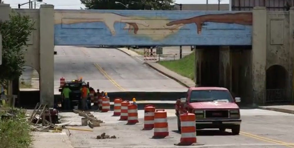 The Madison Street underpass has undergone a multi-million dollar project including a two tier pumping system designed to prevent major flooding. The project proved to work after major rainfall on Labor Day. Tony Sandleben, NewsLink Indiana