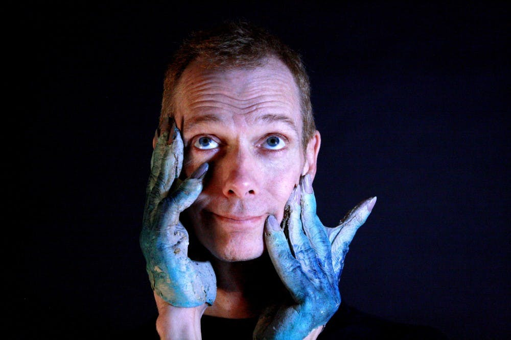 """Doug Jones is the Amphibian Man in the movie """"The Shape of Water"""". Jones graduated from Ball State in 1982. Bruce Smith, Photo Provided"""
