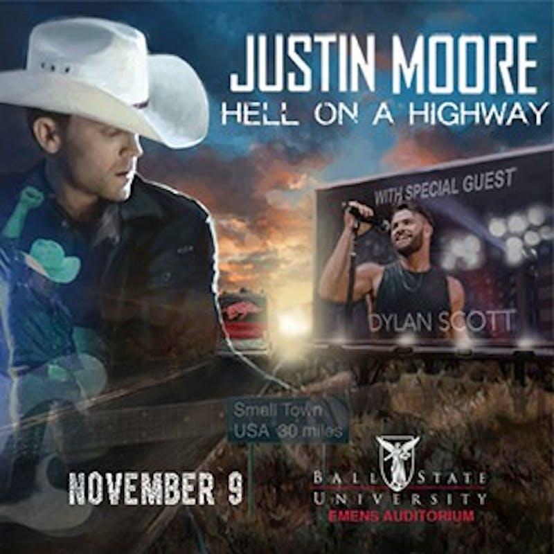 Justin Moore ticket presale Thursday