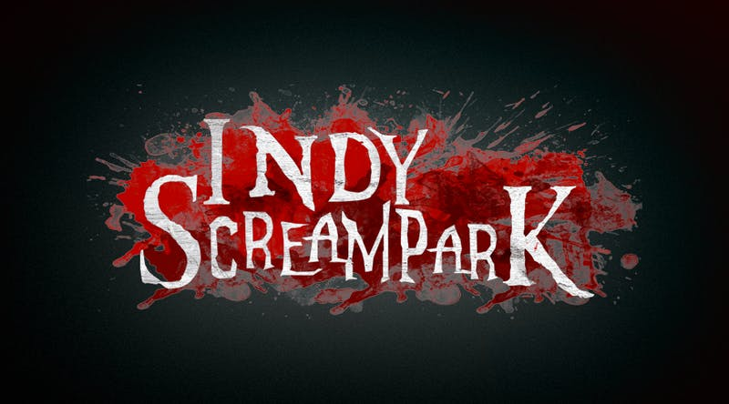 A peek around the corner at Indy Scream Park