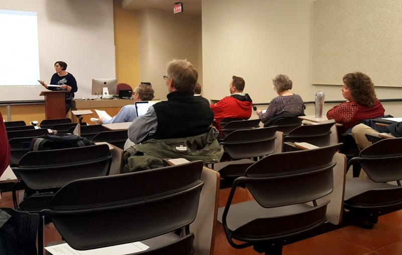 Ball State governance restructuring outline proposed at university council