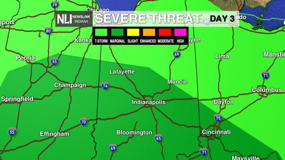 First Warning Forecast: Tracking storms overnight, strong to severe possible