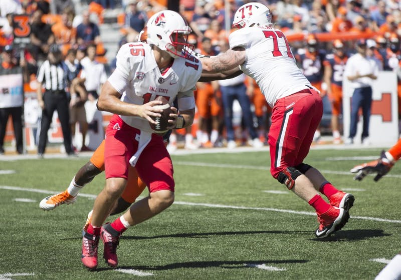 Ball State drops opener to Illinois