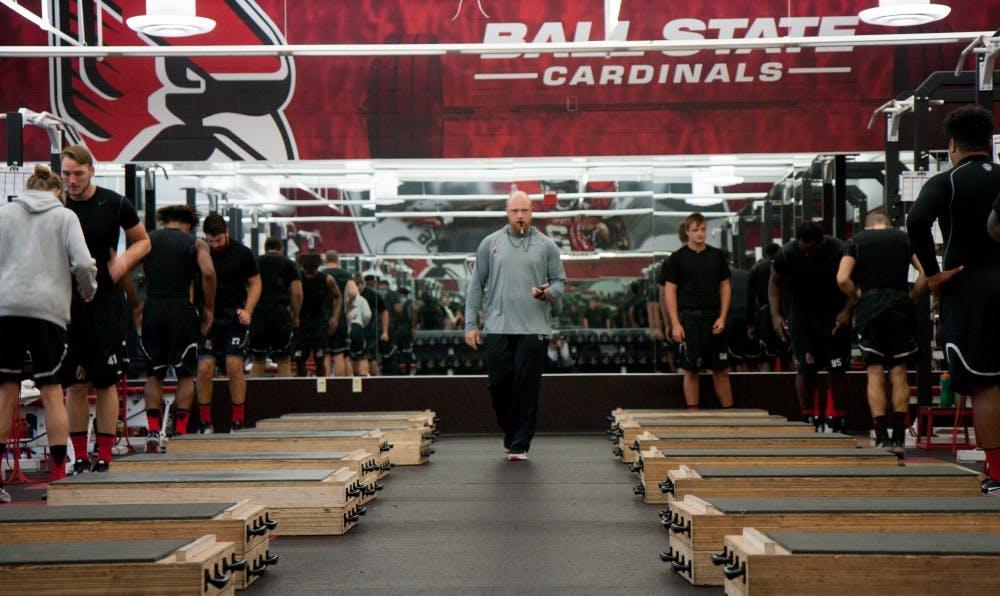 MAC Man: Coach Ben Armer's weight room