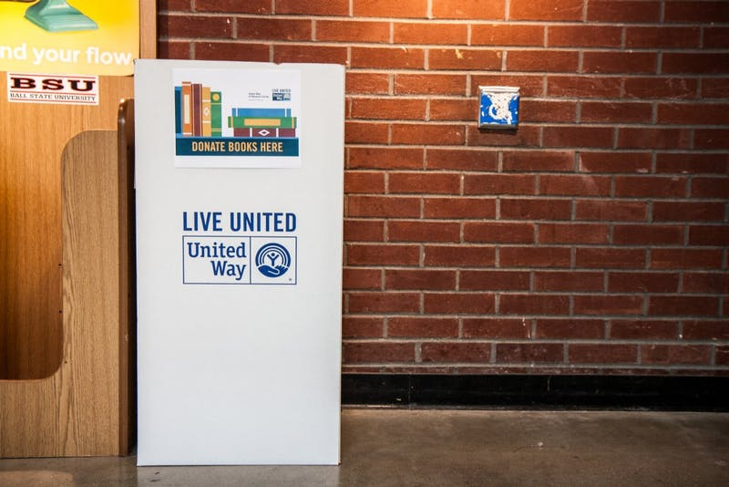 United Way book drive supplies Little Libraries