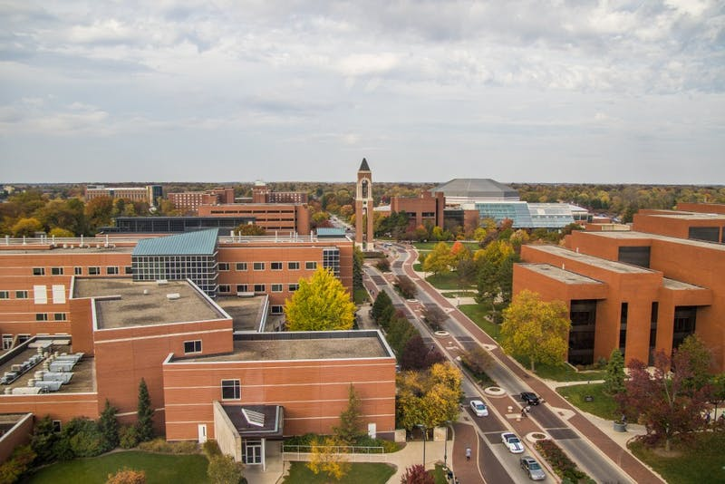 Ball State projects record for student enrollment