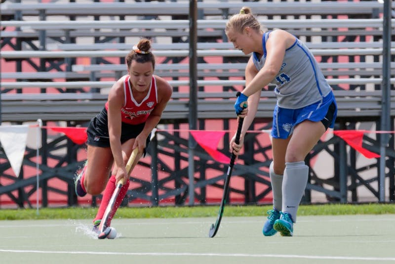 Ball State field hockey hosts Kent State and No. 10 Northwestern