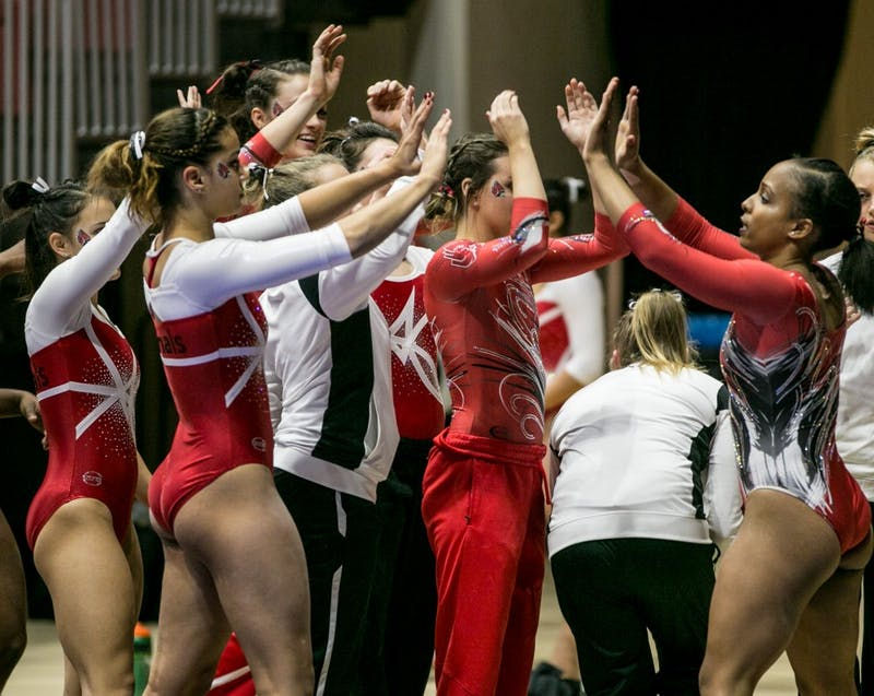 Ball State gymnastics completes comeback against Bowling Green
