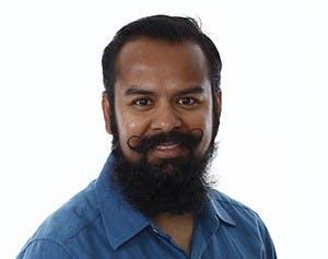 Assistant professor of art Shantanu Suman. Ball State University, Photo Courtesy