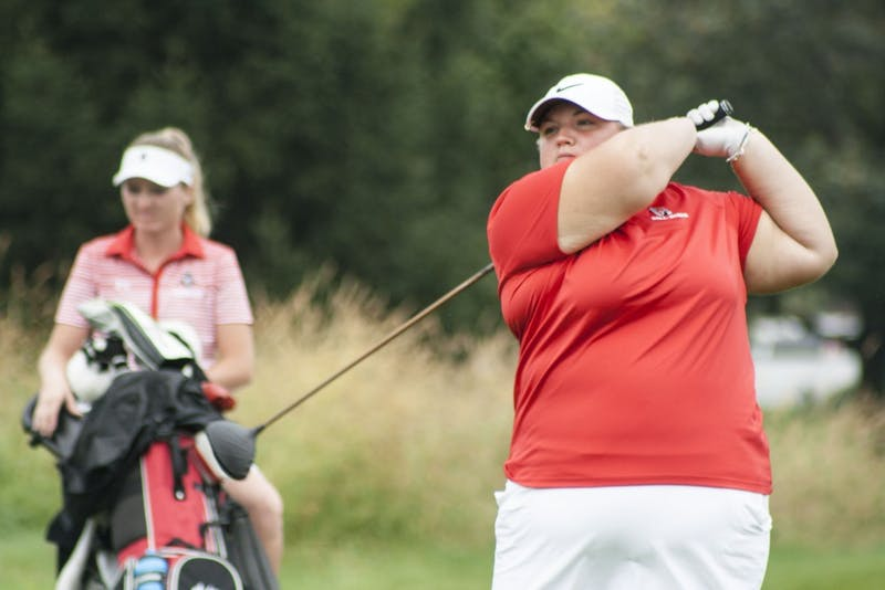 Morgan Nadaline's top 15 finish carries women's golf team in Cardinal Classic