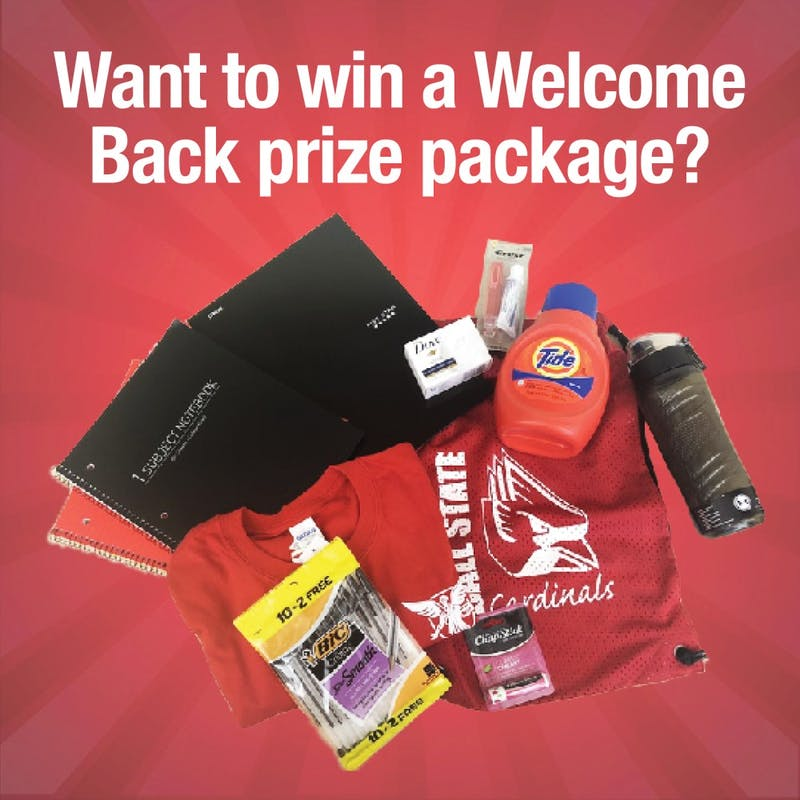 Enter the Welcome Back Contest today!
