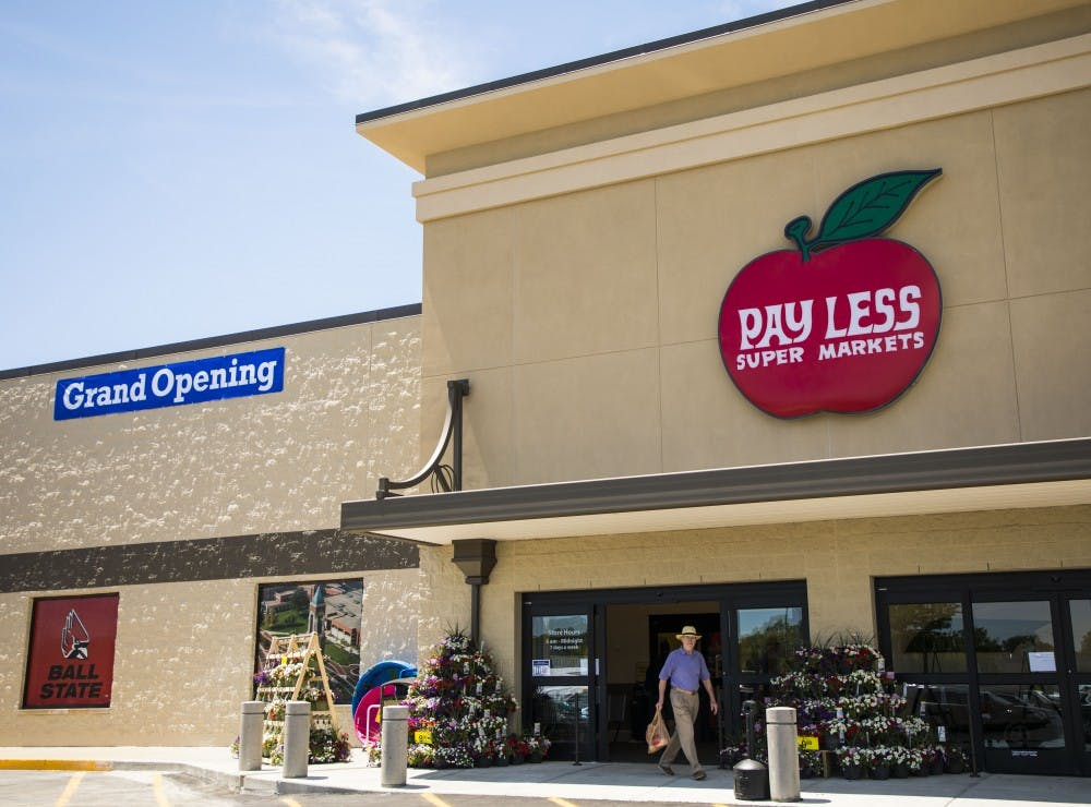 The second Pay Less Super Market officially opened in the 700 block of South Tillotson Avenue Wednesday, May 23. The store opened after $5 million was spent on upgrades to the former Marsh store. Rachel Ellis, DN