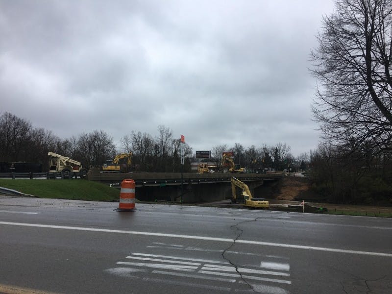 The Burlington drive bridge over the Muncie bypass is expected to reopen ahead of schedule. Grace Ramey // DN File