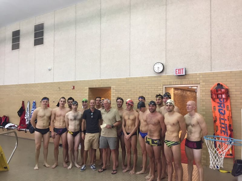 Former diver donates part of game show winnings to swim and dive program