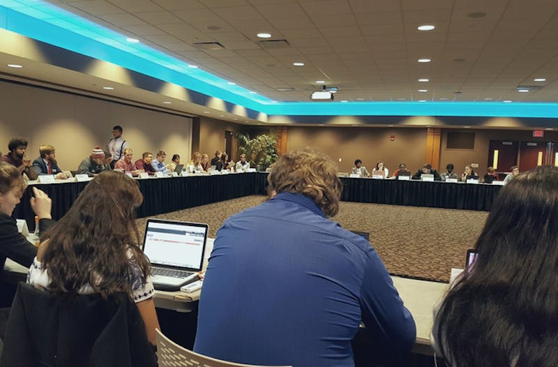 SGA tables vote approving independent Cardinal Kitchen review committee