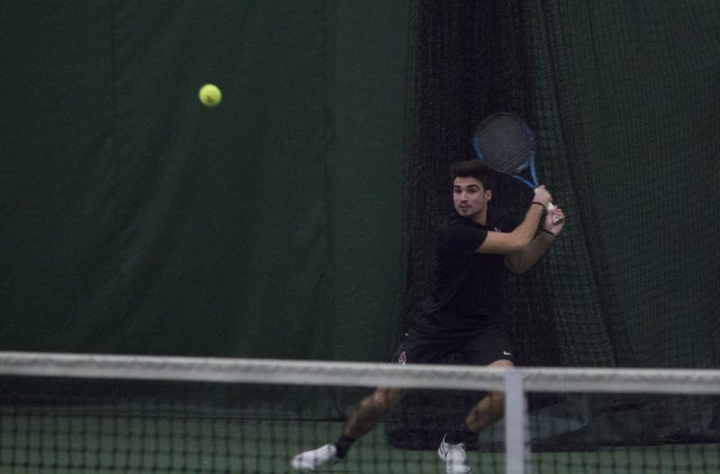Ball State men's tennis keeps on winning behind Chris Adams and Conner Andersen
