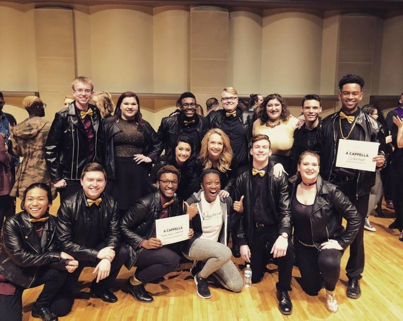 Ball State a capella groups win big at 2018 ICCA Midwest Quarterfinals