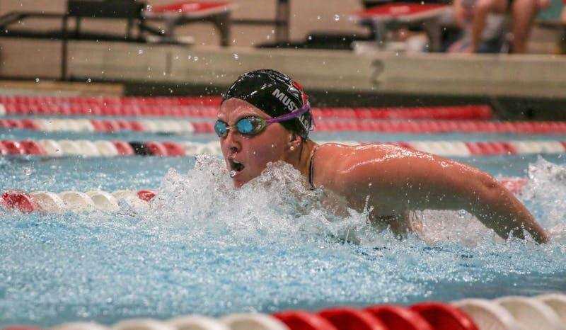 Ball State women's swim and dive competes in MAC Championship