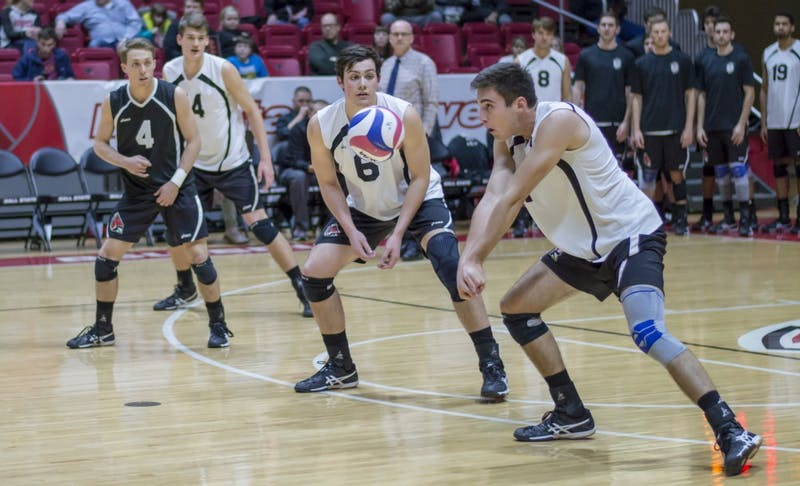 Men's volleyball unveils highly competitive schedule for 2018 season