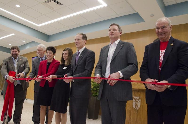 University officially reopens John R. Emens Auditorium