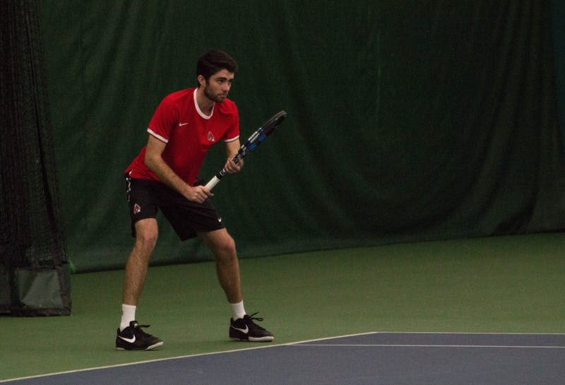 Men's tennis heads to Western Michigan for MAC tournament