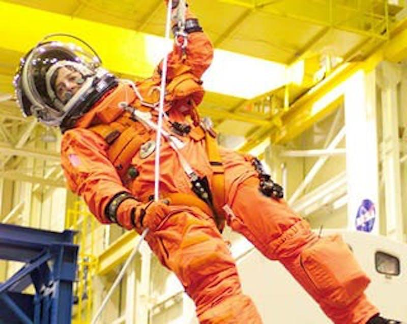 Astronaut Wendy Lawrence to speak at Emens Auditorium