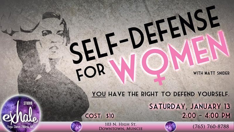 Self-Defense for Women class introduced at Studio Exhale