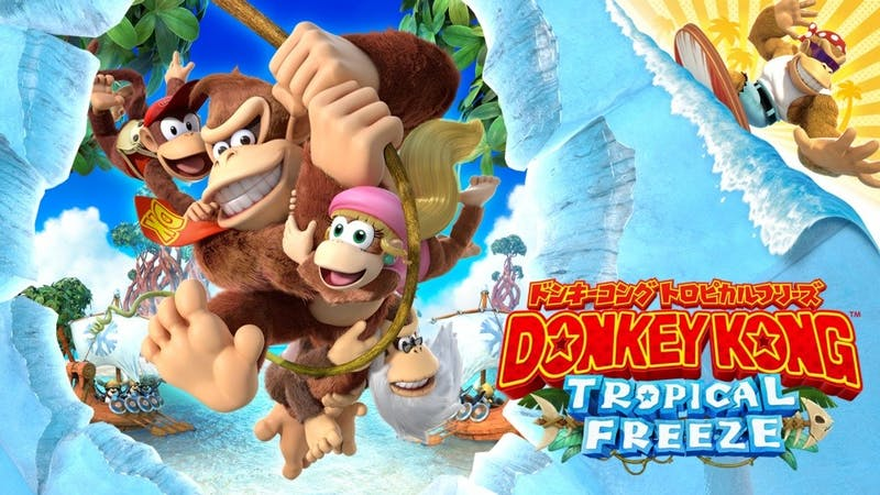 """""""Donkey Kong Country: Tropical Freeze"""" for Nintendo Switch is funky but not in a good way"""
