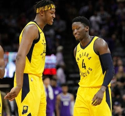 Pacers shooting guard Victor Oladipo will drive the pace car at the Indy 500 Sunday, May 27. The car tops out at 212 mph. AP Photo