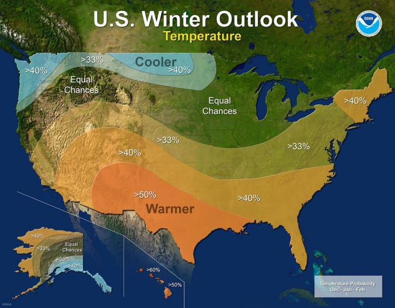 Indiana winter outlook: La Niña's potential impacts to Central Indiana